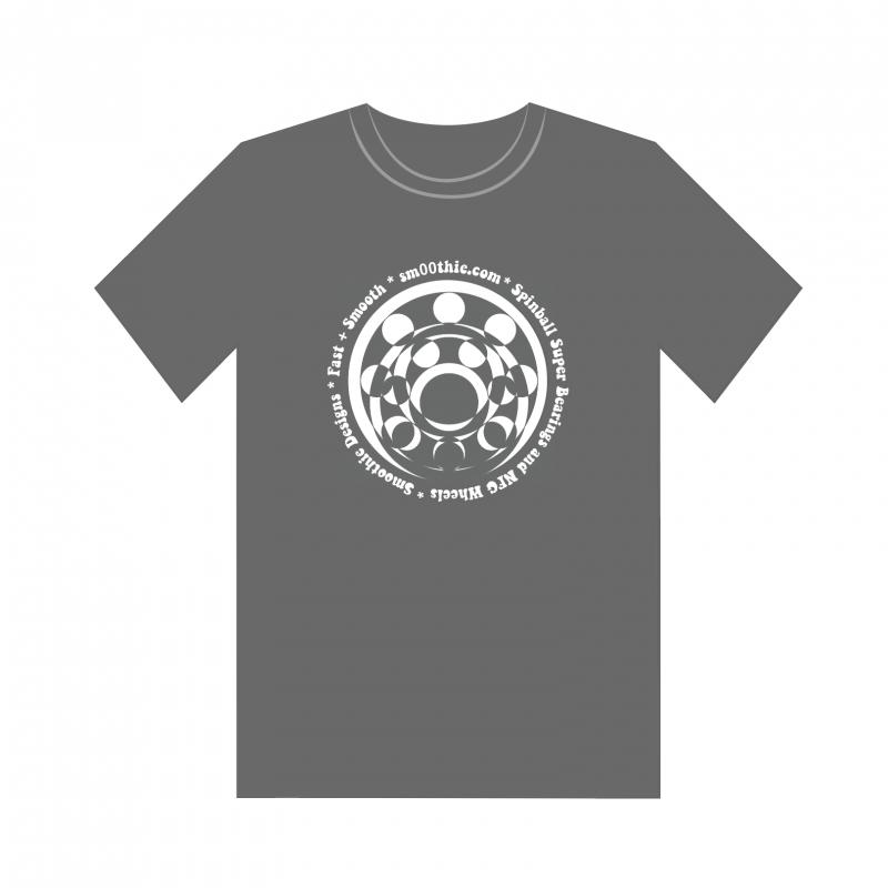 Sm00thie Designs - Spinball T-Shirt Dark Gray