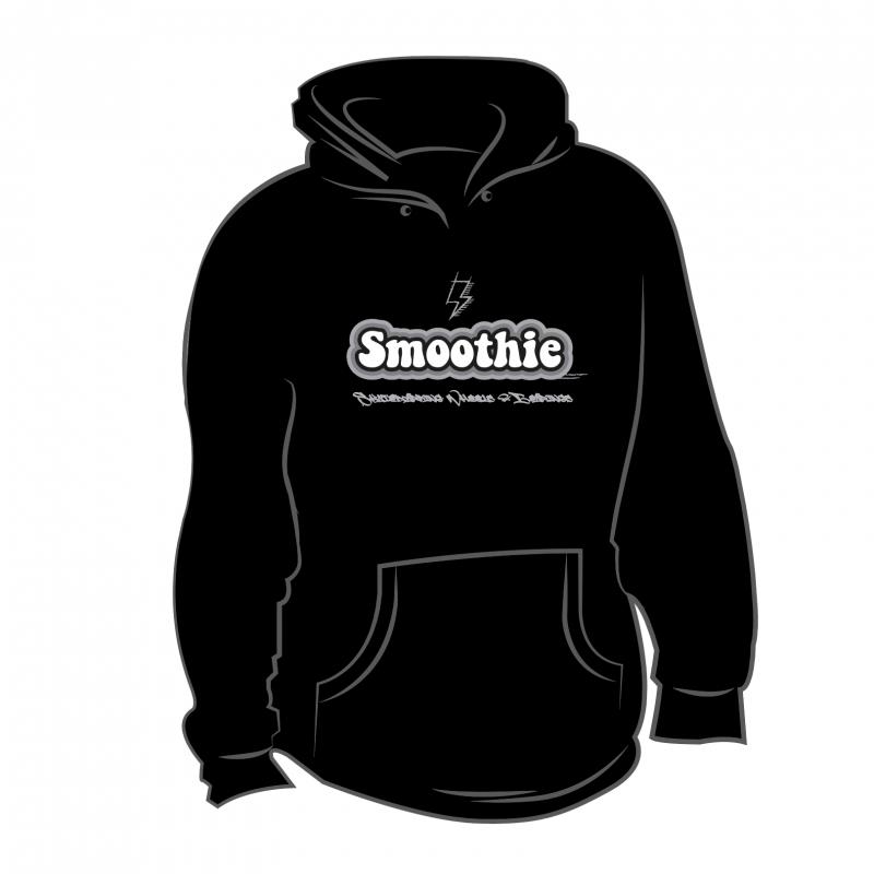 Sm00thie Design Hoodie Black